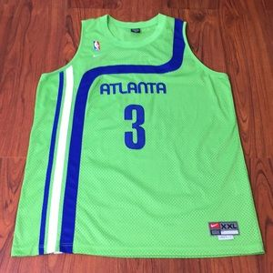 Atlanta Hawks Shareef Throwback NBA Nike Jersey